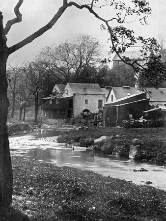 Old Mill, Milngavie, East Dunbartonshire, Scotland, 1924-1926-Valentine & Sons-Giclee Print