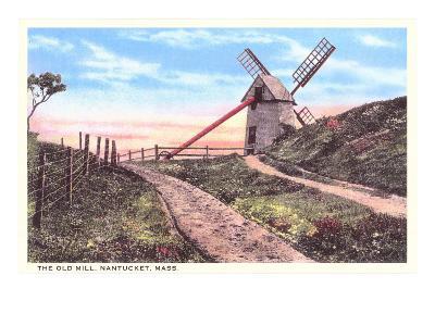 Old Mill, Nantucket, Massachusetts--Art Print