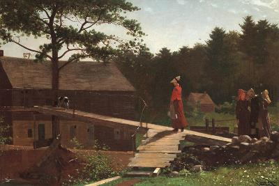 Old Mill (The Morning Bell), 1871-Winslow Homer-Giclee Print