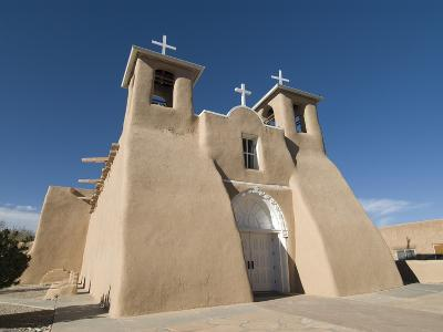 Old Mission of St. Francis De Assisi, Ranchos De Taos, New Mexico, United States of America, North -Richard Maschmeyer-Photographic Print