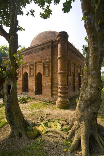 Old Mosque in Soneragon, Bangladesh, Asia-Michael Runkel-Photographic Print