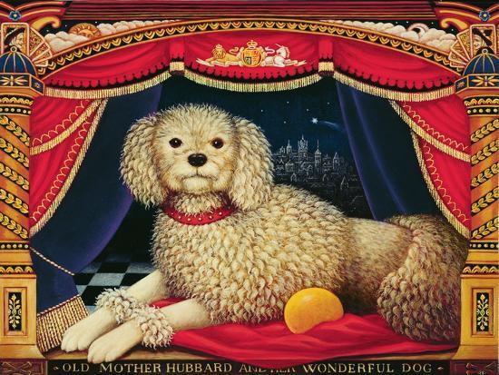 Old Mother Hubbard's Wonderful Dog, 1998-Frances Broomfield-Giclee Print