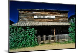 Old Music Hall in Ghost Town near Virginia City, MT