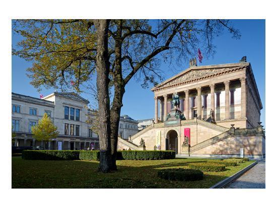 Old National Gallery, Alte Nationalgalerie, Museum Island, Berlin, Germany--Art Print