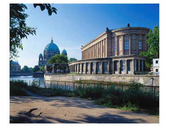 Old National Gallery Berlin--Art Print