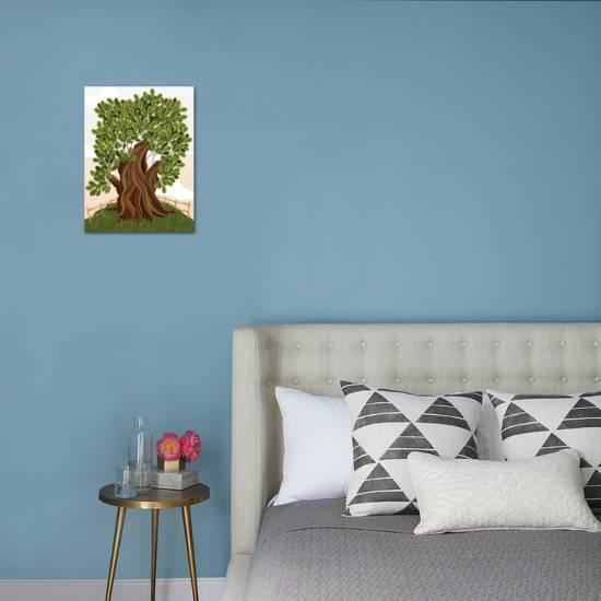 Old Oak Tree Art Print By Milovelen