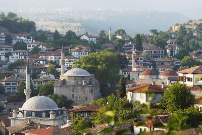Old Ottoman Town Houses and Izzet Pasar Cami Mosque, Safranbolu, Central Anatolia, Turkey Minor-Christian Kober-Photographic Print