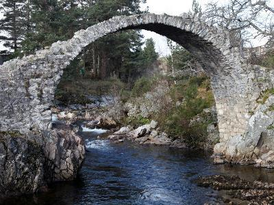 Old Packhorse Bridge Near Forres, Morayshire, Scotland, United Kingdom, Europe-David Lomax-Photographic Print