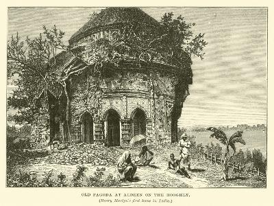 Old Pagoda at Aldeen on the Hooghly--Giclee Print