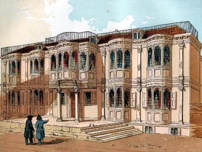 Old Palace at Greenwich, C1850--Giclee Print