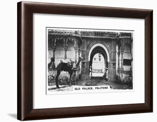 Old Palace, Palitana, India, C1925--Framed Giclee Print