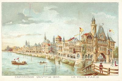 Old Paris, Exposition Universelle 1900, Paris--Giclee Print