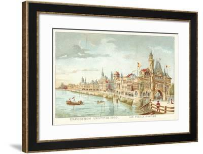 Old Paris, Exposition Universelle 1900, Paris--Framed Giclee Print