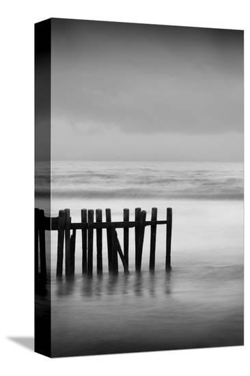 Old Pier I-Shane Settle-Stretched Canvas Print