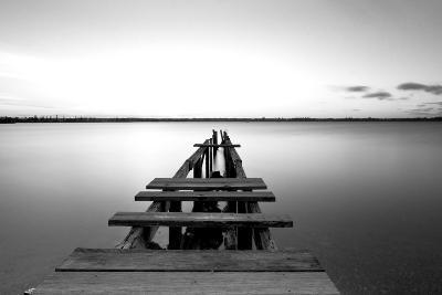 Old Pier--Photographic Print