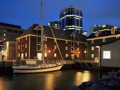 Old Port at Dusk, Halifax, Nova Scotia, Canada-Eitan Simanor-Photographic Print