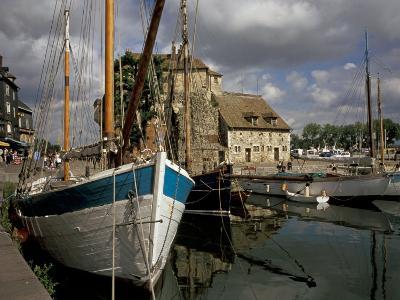 Old Port, Honfleur, Normandy, France-David Barnes-Photographic Print