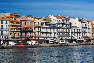 Old Port Waterfront with Buildings in the Background, Sete, Herault, Languedoc-Roussillon, France--Photographic Print