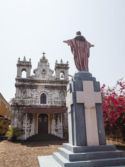 Old Portuguese Church in Grounds of Fort Tiracol, Goa, India, Asia-Yadid Levy-Photographic Print