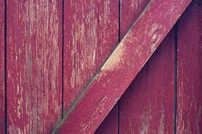 Old Red Brick Wall-Ozornina-Photographic Print