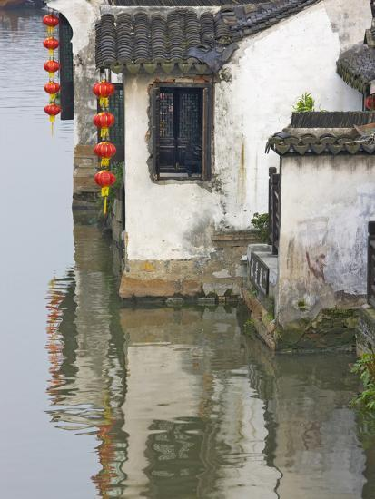 Old Residence Along the Grand Canal, Xitang, Zhejiang, China-Keren Su-Photographic Print