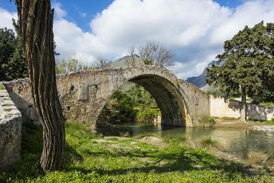 Old Roman Bridge, Preveli, Crete, Greek Islands, Greece, Europe-Michael Runkel-Photographic Print