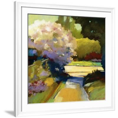 Old Rose-Lou Wall-Framed Giclee Print