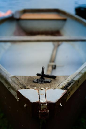 Old Rowing Boat-Mr Doomits-Photographic Print