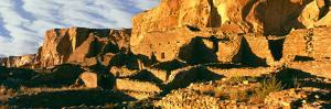 Old Ruins at Archaeological Site, Chetro Ketl, Chaco Culture National Historic Park