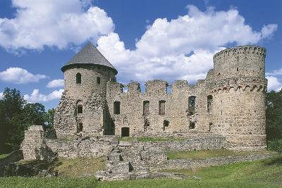 Old Ruins of a Castle, Cesis, Vidzeme, Latvia--Photographic Print