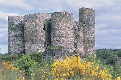 Old Ruins of a Castle, Chateau De Domeyrat, Auvergne, France--Photographic Print