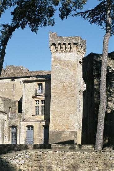 Old Ruins of a Castle, St. Privat Castle, Gard Department, Languedoc-Rousillon, France--Photographic Print