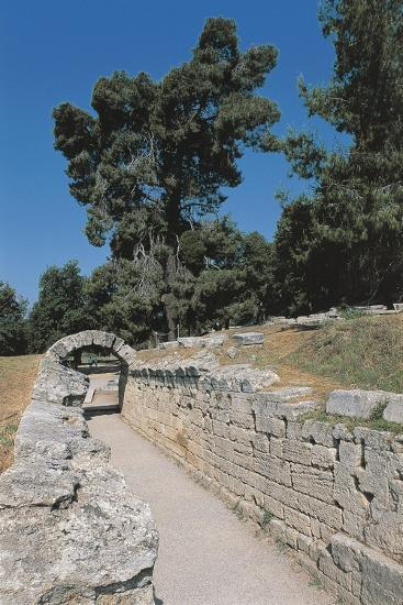 Old Ruins of an Archway, Olympia, Greece--Giclee Print