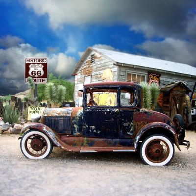 Old Rusty Car in America-Salvatore Elia-Photographic Print