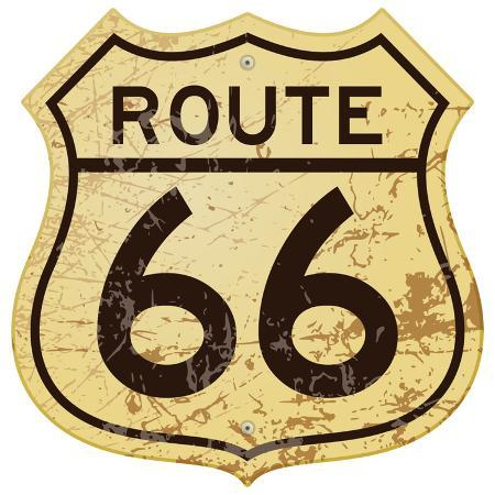 old-rusty-route-66-roadsign