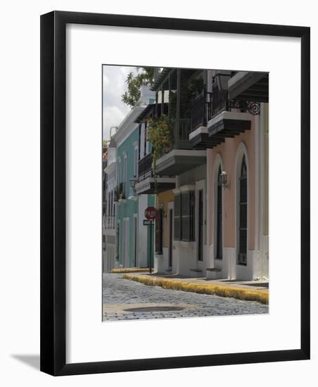 Old San Juan, Puerto Rico-Lauree Feldman-Framed Photographic Print