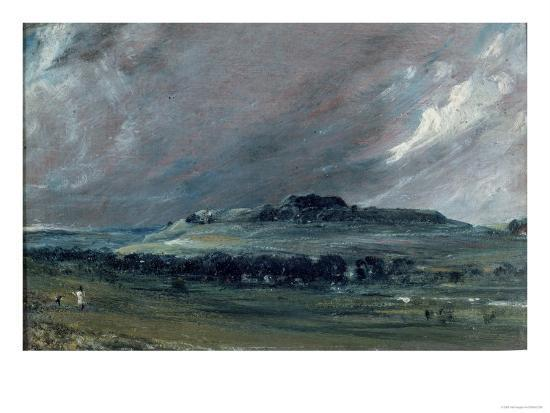 Old Sarum, Wiltshire-John Constable-Giclee Print