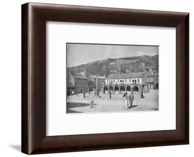 'Old Shambles and Market Place, Settle', c1896-Anthony Horner-Framed Photographic Print