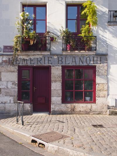 Old Shop in Vieux or Old Tours, UNESCO World Heritage Site Loire Valley, Indre-Et-Loire, France-Julian Elliott-Photographic Print