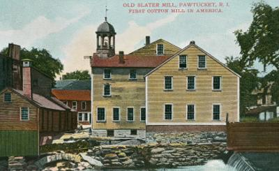 Old Slater Mill, Pawtucket, Rhode Island