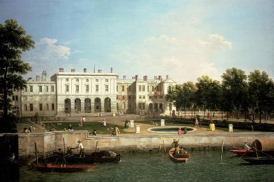 Old Somerset House from the River Thames, London-Canaletto-Giclee Print