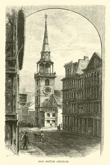 Old South Church--Giclee Print