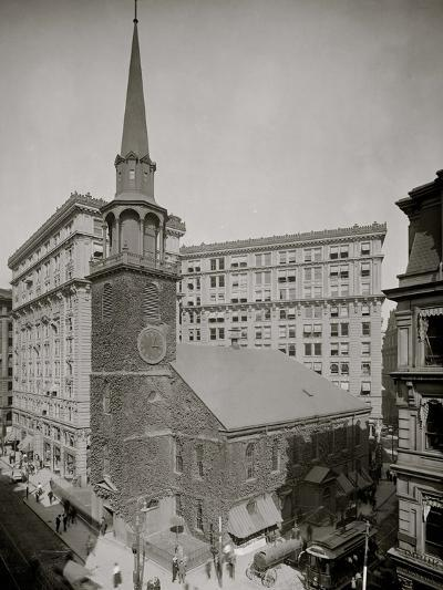 Old South Meeting House and Old South Building, Boston, Mass.--Photo