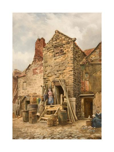 Old Sparrow Hall, Cullercoats-Thomas Miles Richardson-Giclee Print