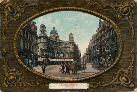 Old Square, Birmingham, c1905-Unknown-Giclee Print