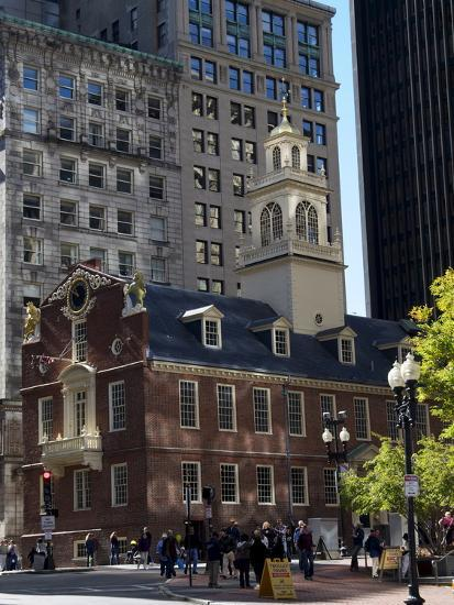 Old State House, Boston, Massachusetts, New England, USA--Photographic Print