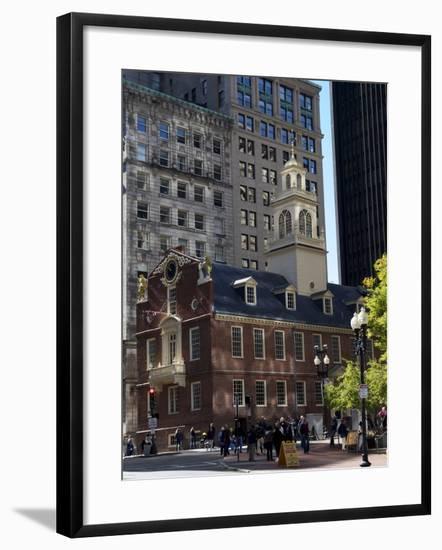 Old State House, Boston, Massachusetts, New England, USA--Framed Photographic Print
