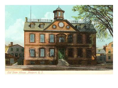 Old State House, Newport, Rhode Island--Art Print