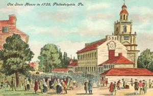 Old State House, Philadelphia, Pennsylvania, 1735