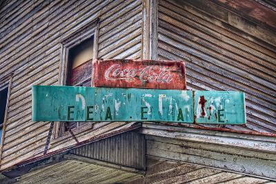Old Store Sign-Bob Rouse-Photographic Print
